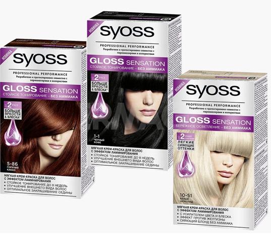 Краска для волос без аммиака сьес палитра цветов