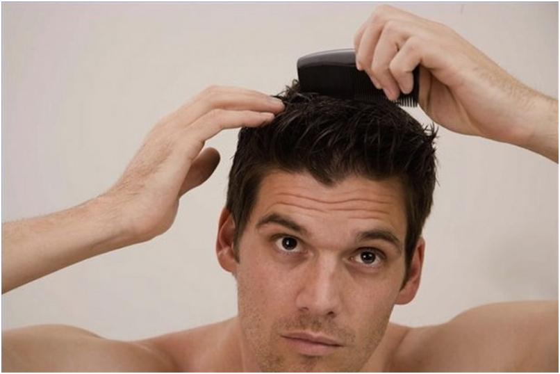 Укладка волос домашних условиях мужчине