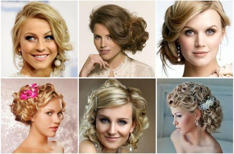 Прически на средние волосы в бок на средние волосы