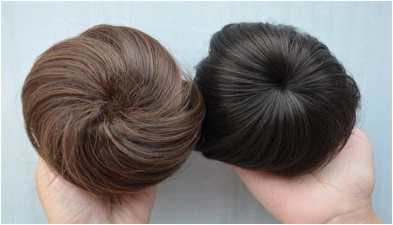 Заколки из натуральных волос