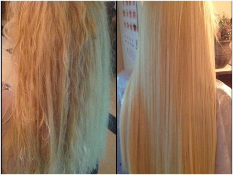 Кератиновое лечение волос в домашних условиях