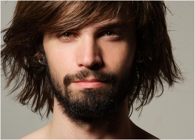 Бородатый парень