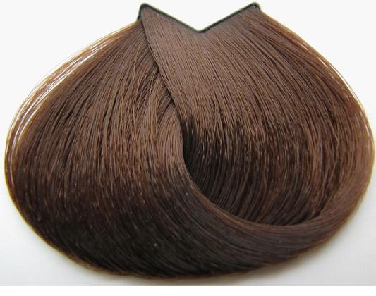Образец цвета волоса шатен