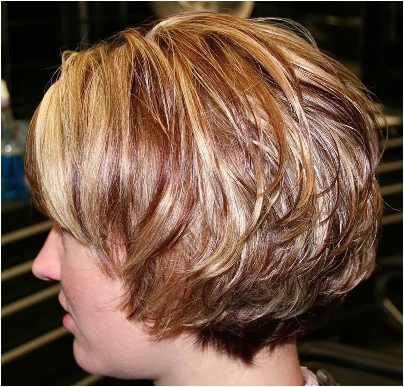 Прическа каскад для коротких волос