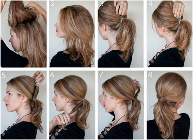 Укладка волос своими руками в домашних условиях фото