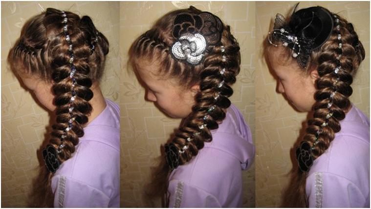 Прически для девочек на длинные волосы плетение косы
