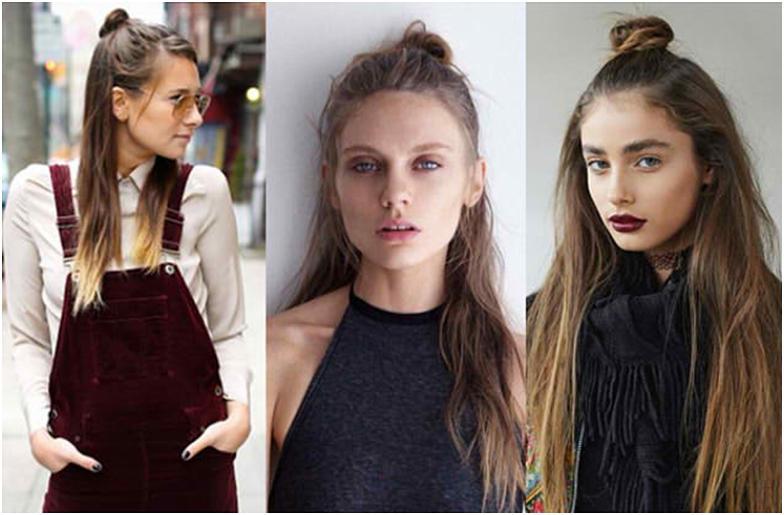 Самые модные женские Прически с пучком фото для женщин