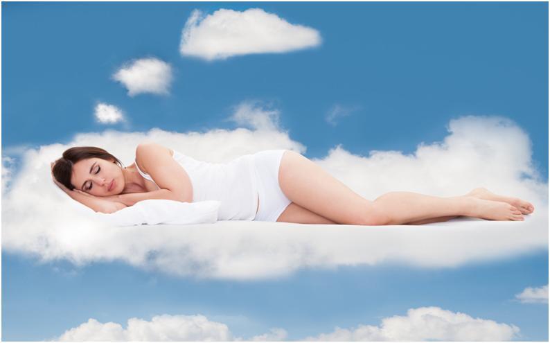 Девушка во сне