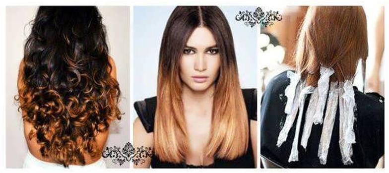 Как красить длинные волосы в домашних условиях 362