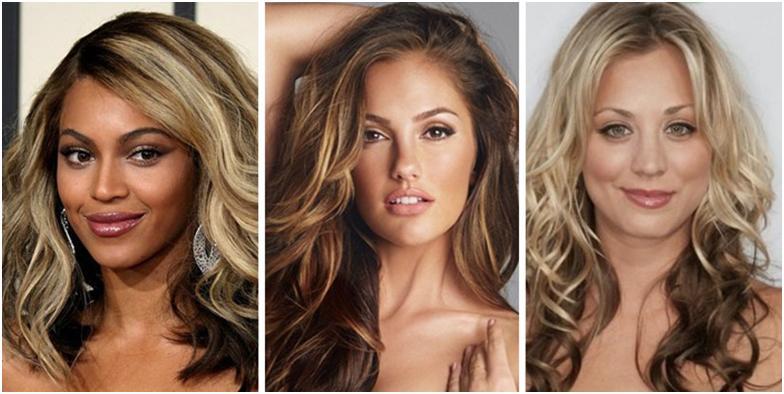 Варианты мелирования волос