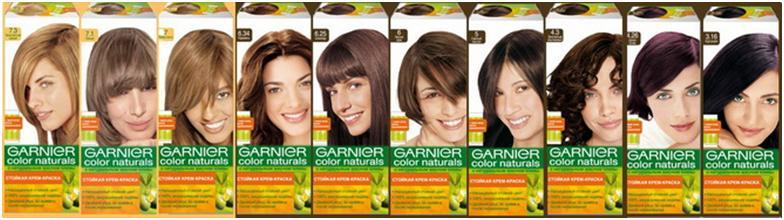 Гарньер краска для волос оттенки фото