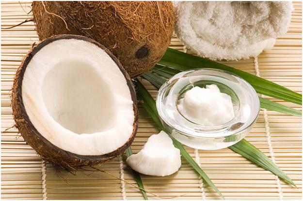 Разрезанный кокос