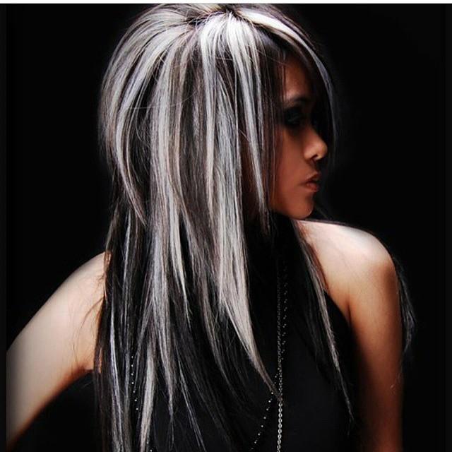 Стрижка симметрия на средние волосы фото