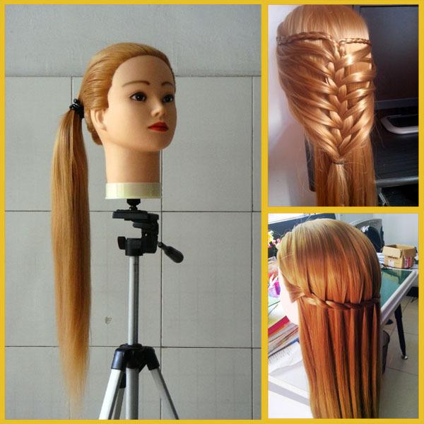 Кукла для причесок с натуральными волосами