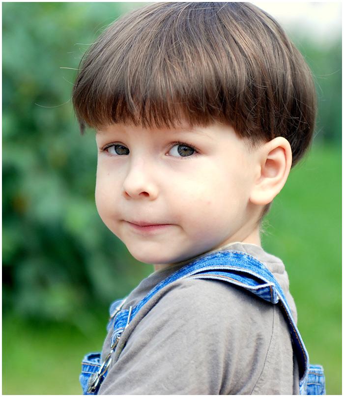 Фото стрижек шапочкой для мальчика