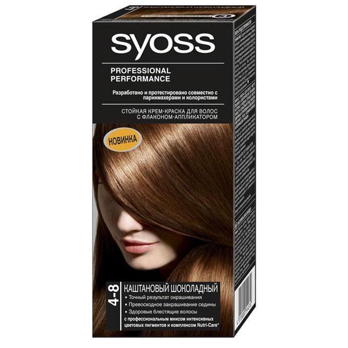 Краска для волос каштановый цвет волос