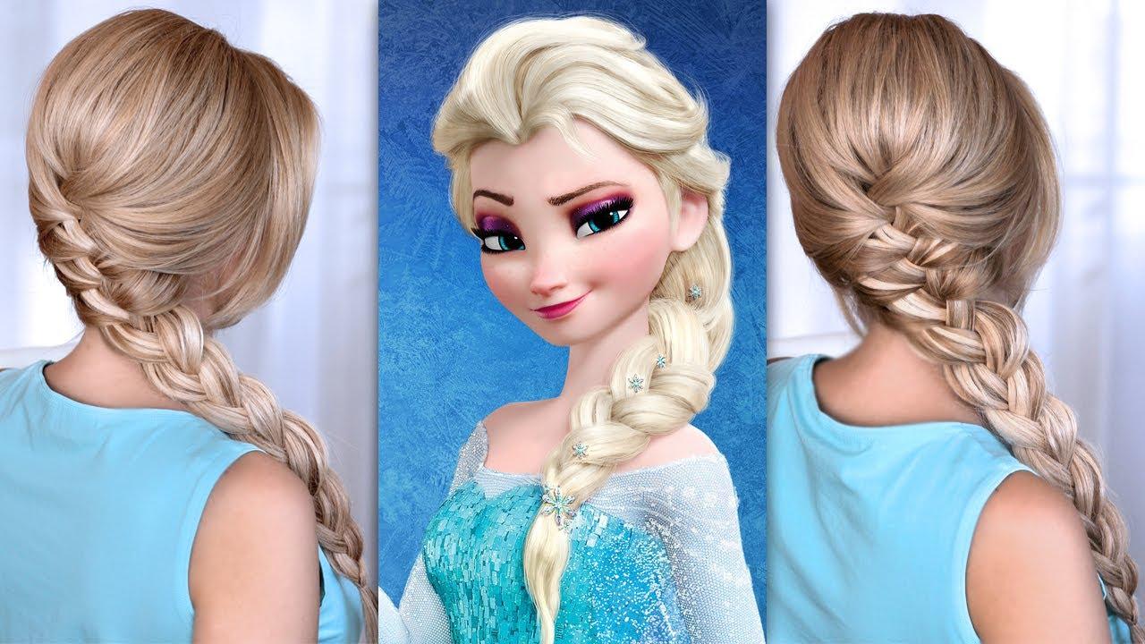 Причёска принцессы своими руками