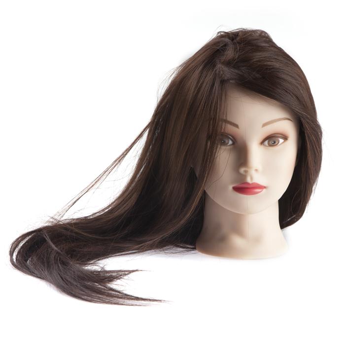 Голова с волосами для причесок своими руками