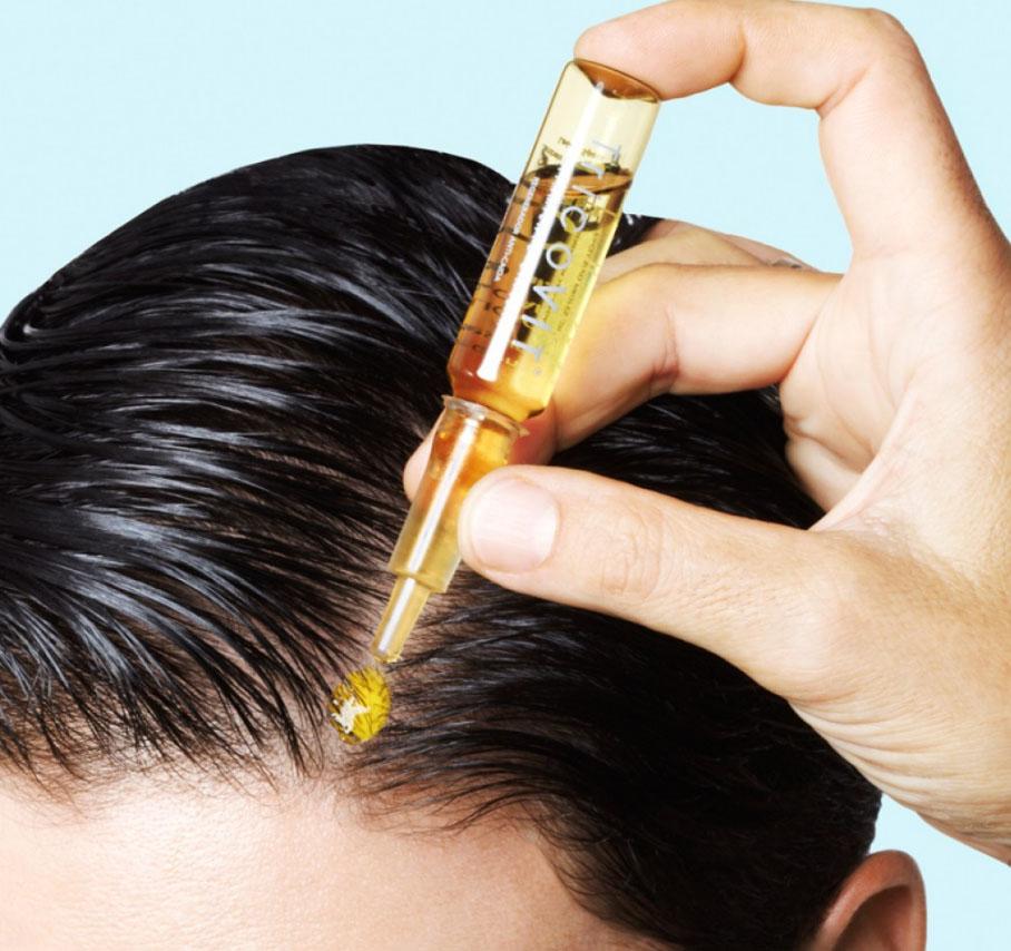 Что втирать в кожу головы при выпадении
