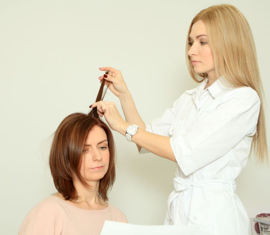 Врач по волосам лечение
