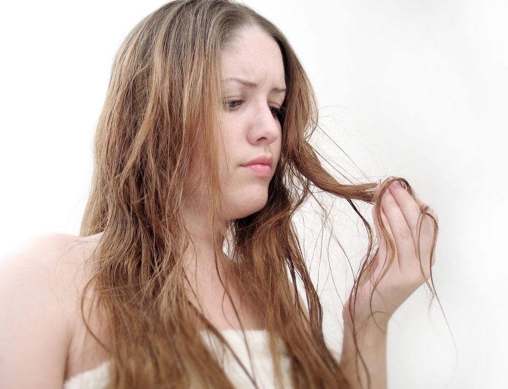 Истощенные волосы