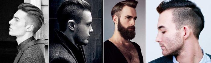 Прически с зачесанными волосами у мужчин