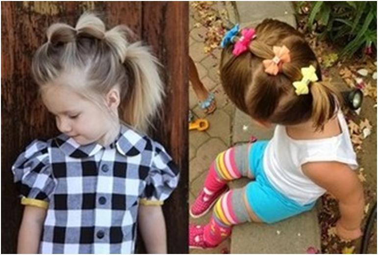 Прическа детские для в садике