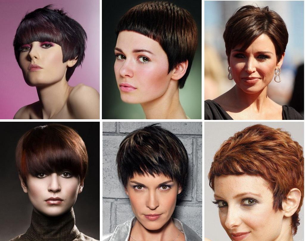 Модные женских причесок на короткие волосы