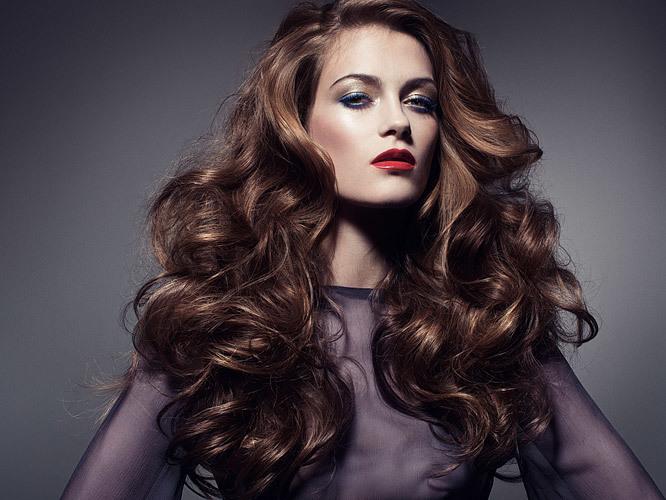 Как сделать крупные локоны на длинный волос 505