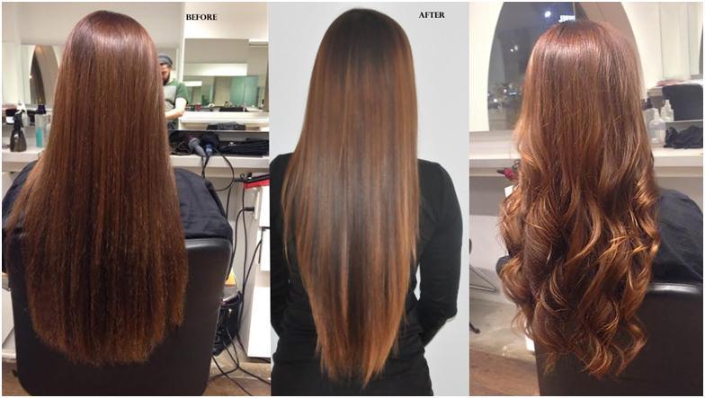 Волосы после выпрямления