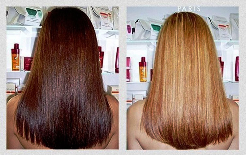 Как быстро отбелить волосы в домашних условиях