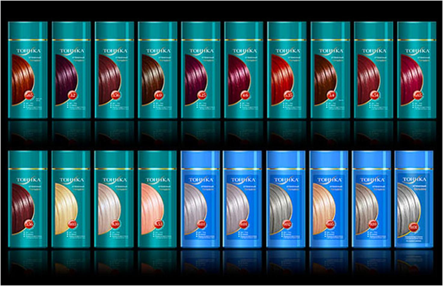 Оттеночные шампуни палитра цветов фото