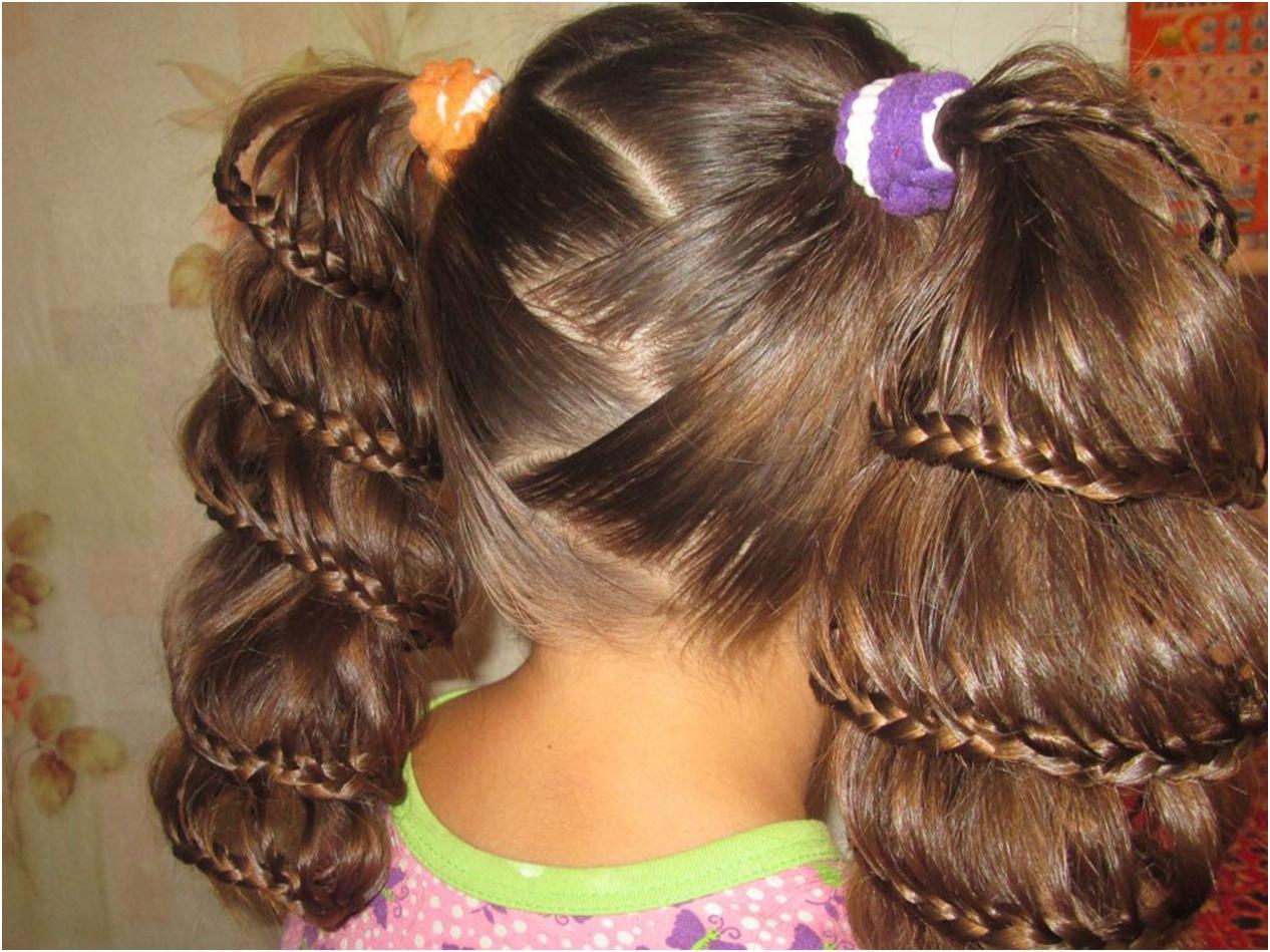 Сделать причёску для девочек