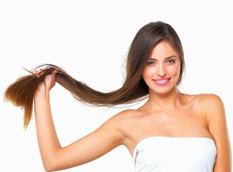 Овсянка помогает волосам