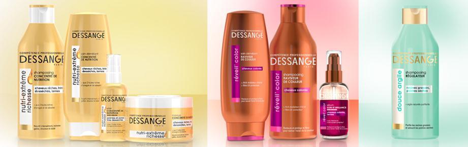 Линии Dessange для волос
