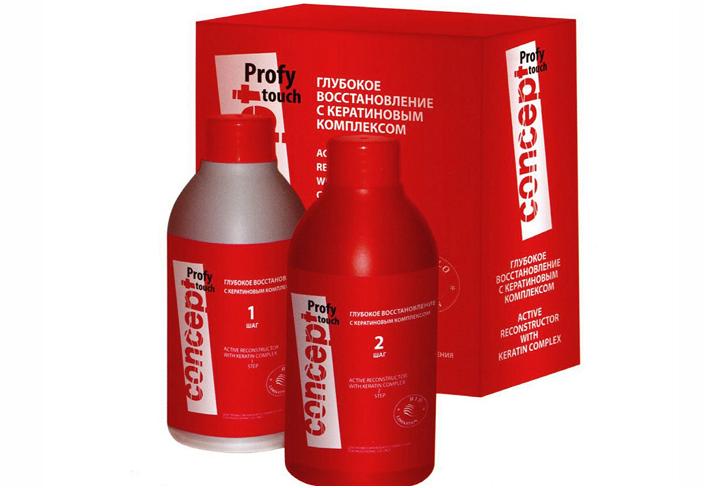 Профессиональные средства для восстановления волос
