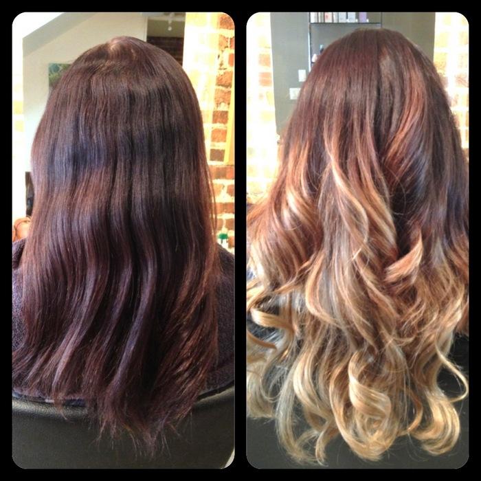 Мое отращивание волос фото до и после данной