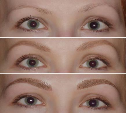 Давайте попробуем создать макияж, имея в распоряжении набор для коррекции бровей летуаль