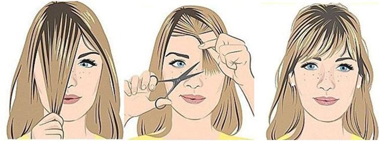 Женские стрижки с челкой вовсе не сложно сделать в домашних условиях