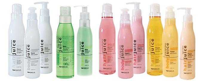 Средство марки Brelil обогащено комплексом витаминов и растительными экстрактами, которые разглаживают и смягчают волосы