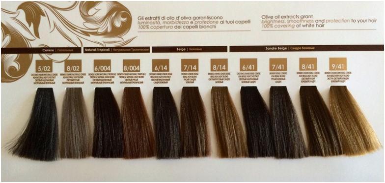 Испытав на себе действие краски с содержанием оливкового масла, вы увидите в зеркале отражение ухоженных волос, с отличным естественным блеском