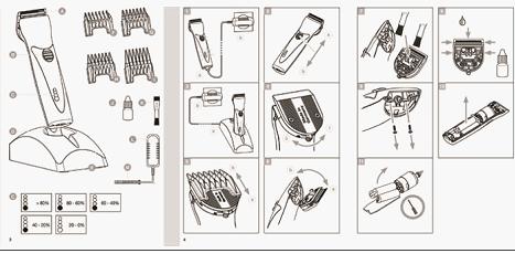 Перед тем как наточить машинку для стрижки волос, её надо хорошо почистить