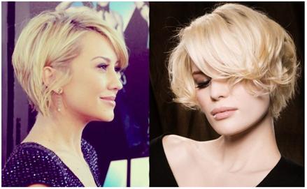 Когда волосы высохнут, снимите бигуди и, не расчесывая, придайте форму прическе