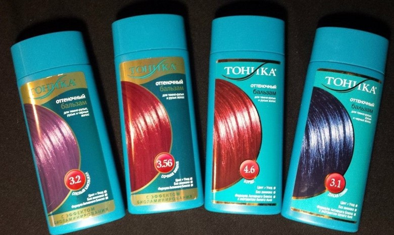 Оттеночные бальзамы для осветленных волос