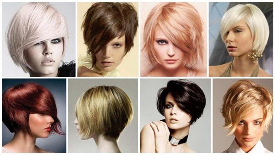 Прически с короткими волосами
