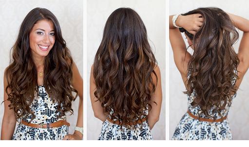 Прически накрученные волосы бигуди