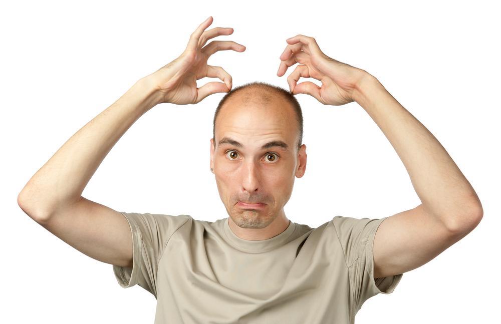 Голова как прополотая грядка почему редеют волосы