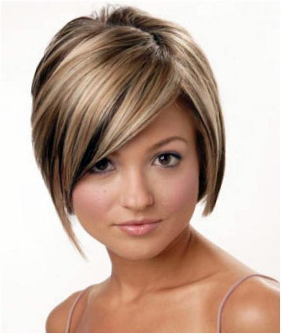 Покраска коротких волос в стиле омбре